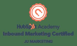 HubSpot Inbound Marketing Certified Badge